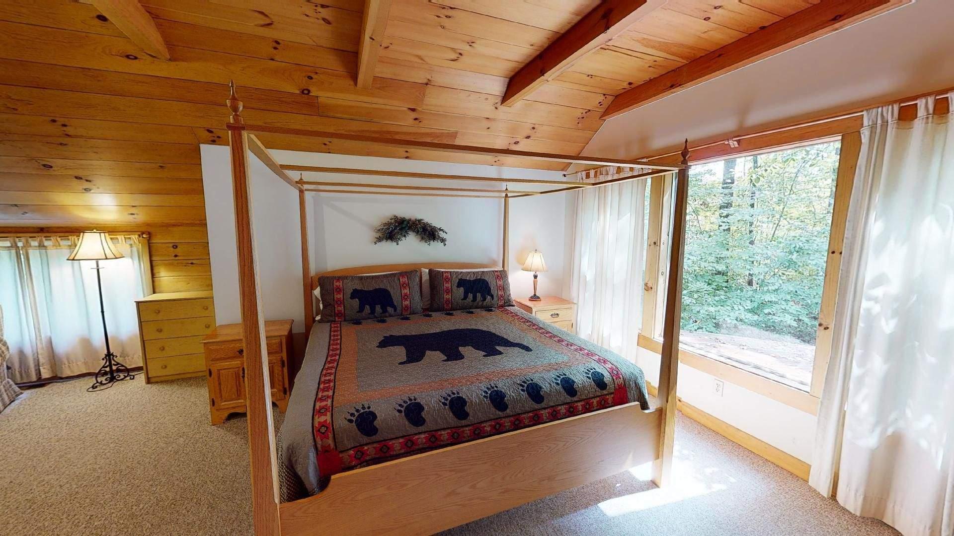 Bear Run Redbud Cabin Bedroom 5 View