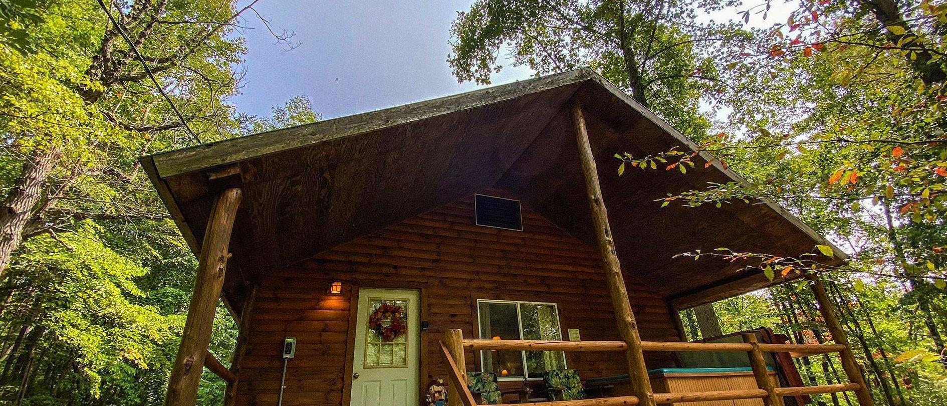 Cabin Near Fishing Pond Hocking Hills